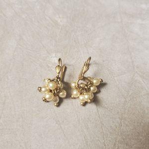 Delicate Pearl Earrings